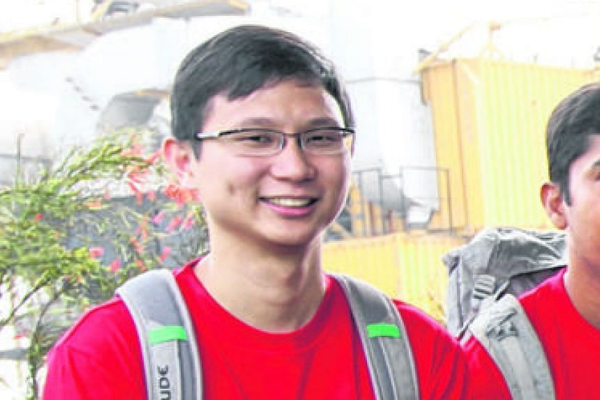 Mr Seumas Yeo, who had eRegistered with the MFA, received a message about a flight on an RSAF C-130.