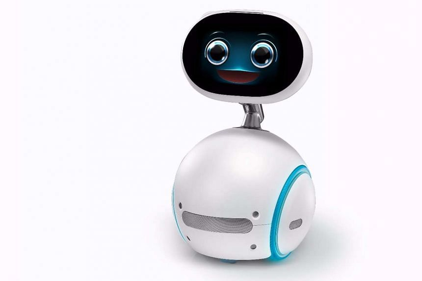 The US$599 (S$828) Asus Zenbo robot is targeted at seniors and children.