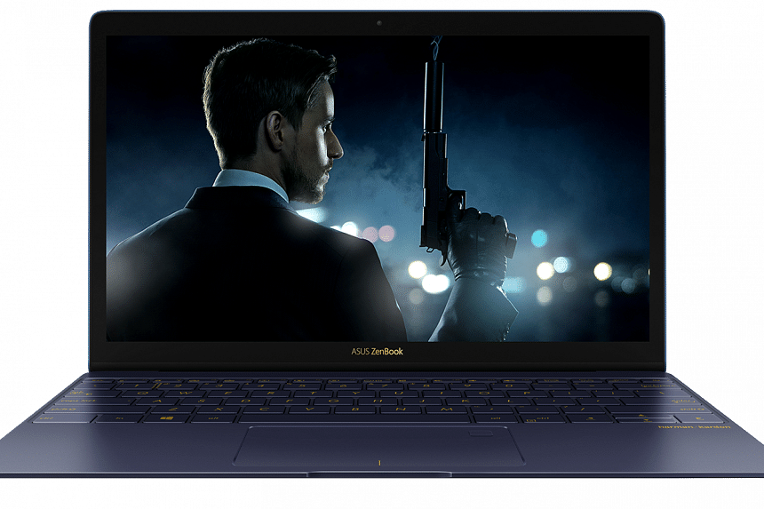 The ZenBook 3 is not only thinner and lighter than the Apple MacBook, it is also more powerful with an Intel Core i7 processor.