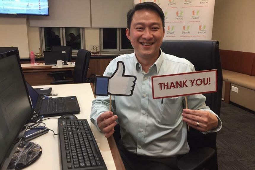 Minister of State for Health, Dr Lam Pin Min hosted a live Facebook chat, part of a public consultation launched by NurtureSG, on May 30, 2016.