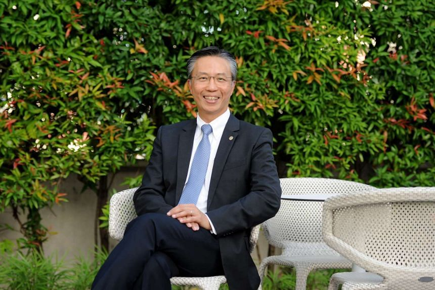 Mr Choe Peng Sum, chief executive officer of Frasers Hospitality Pte Ltd.