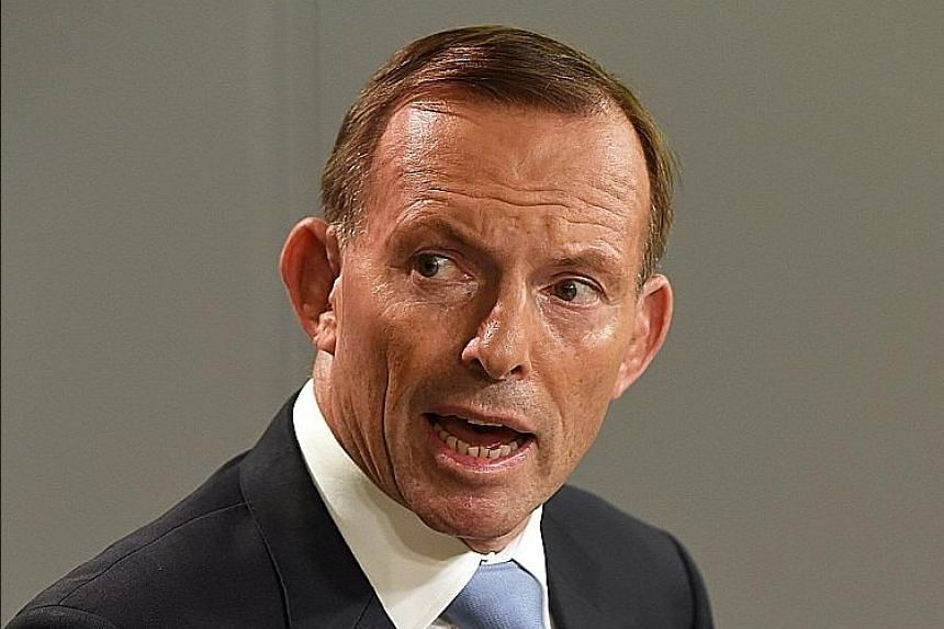 Although the major players in the Australian election are Prime Minister Malcolm Turnbull (top) and Labor leader Bill Shorten (middle), the presence of former prime minister Tony Abbott lurks amid the campaign.