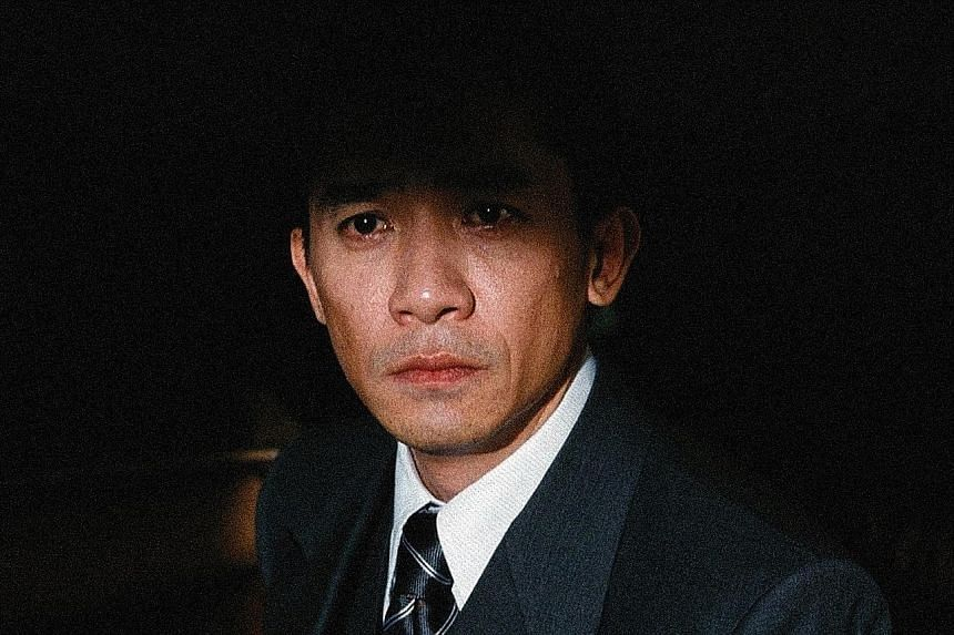 The video installation, The Nameless (2015, above) by Ho Tzu Nyen, appropriates images from films which Hong Kong actor Tony Leung has starred in from 1989 to 2013.