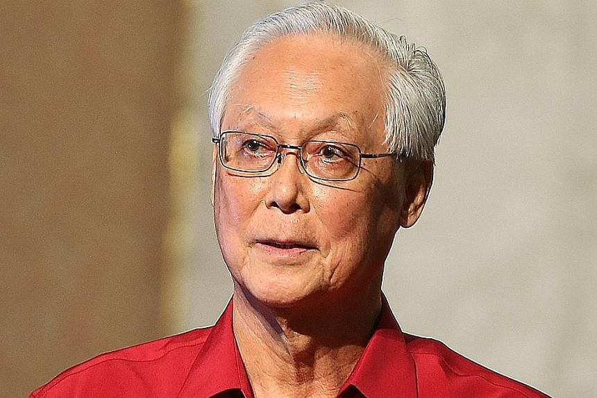 ESM Goh called on Asian leaders to share a common vision in dealing with growing external challenges.