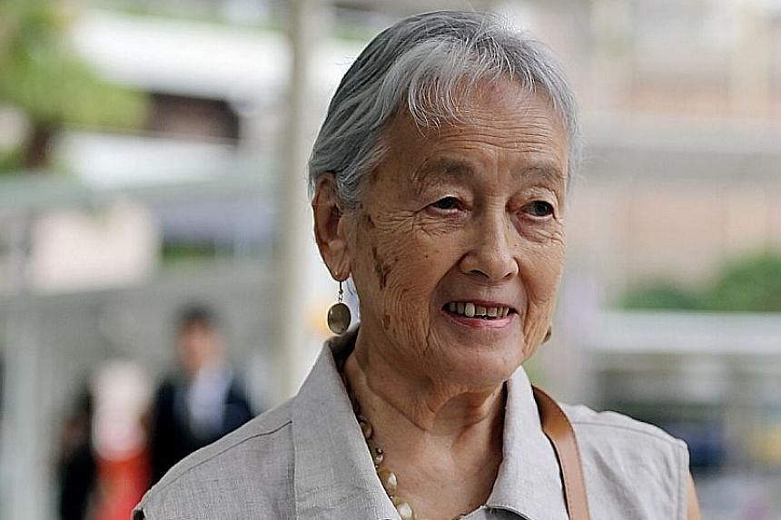 Madam Chung, 89, first got to know Yang when he acted as her private tour guide during a trip to Beijing in 2008. He later allegedly misappropriated $1.1 million from her.