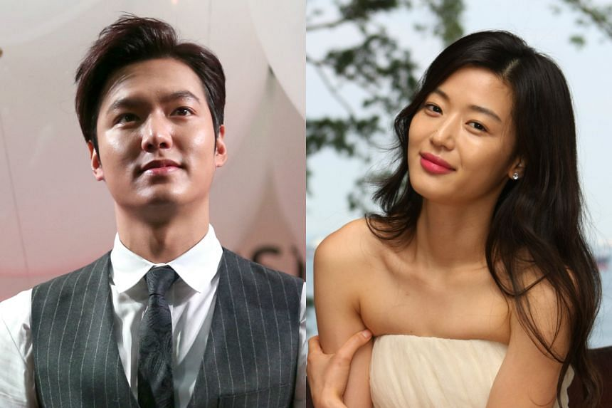 Korean actor Lee Min Ho (left) and actress Gianna Jun will be starring in an upcoming drama.