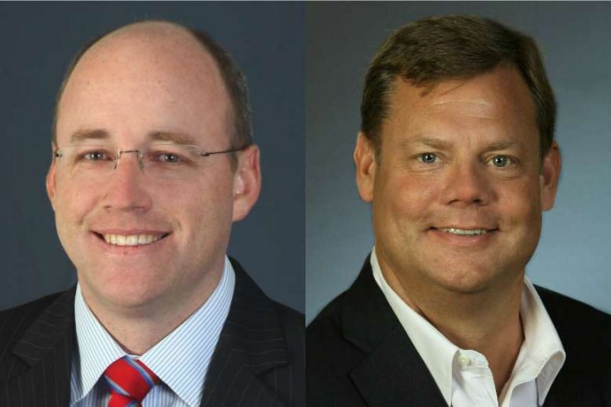 The task of turning Noble Group around now rests on co-CEOs William Randall (left), Noble Group's president, and Jeff Frase (right), president of Noble Americas.