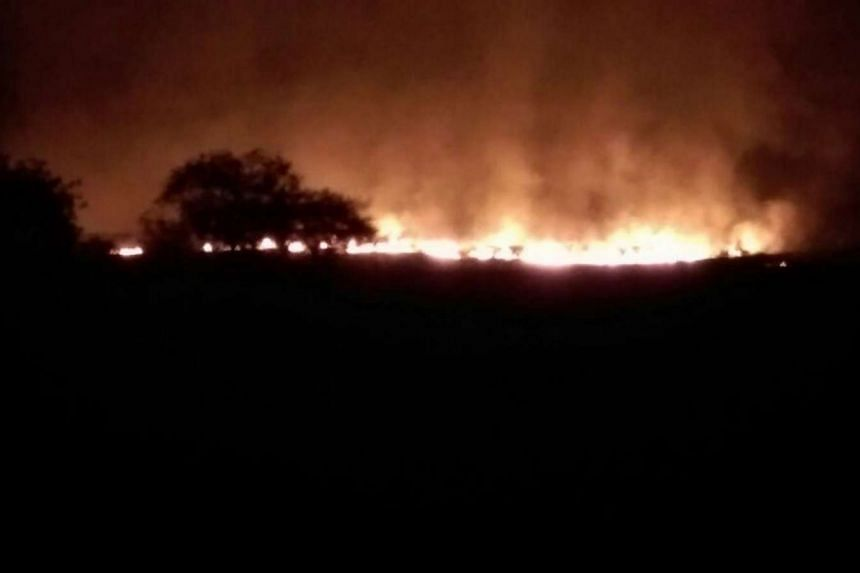 A fire at a military ammunition depot in Pulgaon, India, has left multiple people dead on Tuesday (May 31).