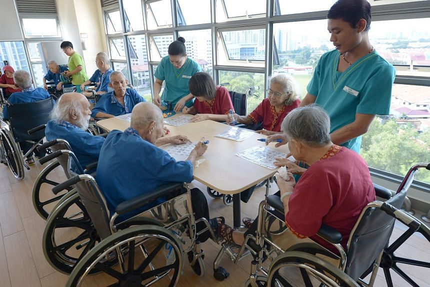 NTUC Health's first nursing home in Jurong West.