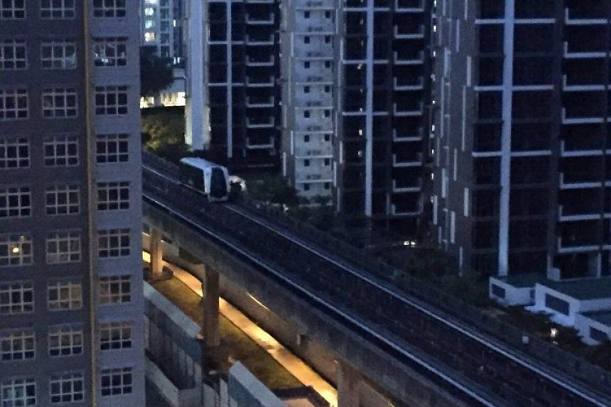 Train services on the Sengkang and Punggol LRT systems were disrupted from about 7pm to 9.29pm on Wednesday (June 1) due to repeated power trips.