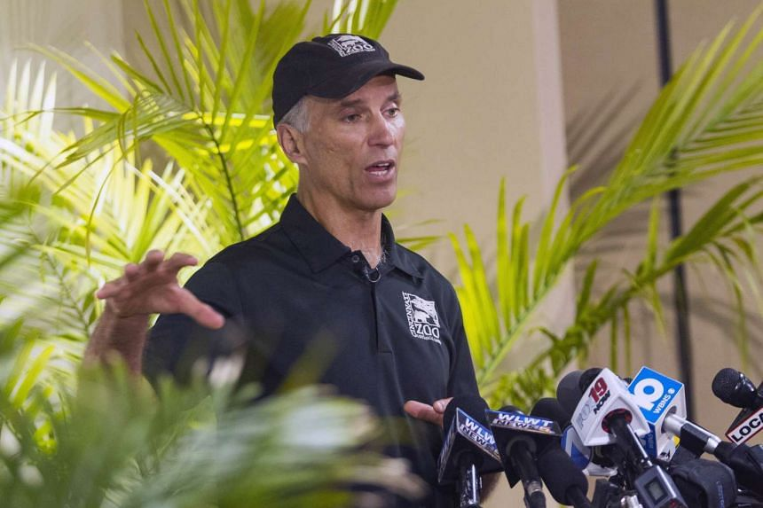 Thane Maynard, Executive Director of the Cincinnati Zoo and Botanical Gardens, speaks to reporters two days after a boy tumbled into a moat and officials were forced to kill Harambe, a Western lowland gorilla, in Cincinnati, Ohio, US on May 30, 2016.