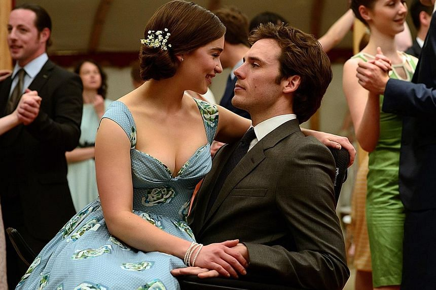 Alexander Black and Tom Hanks in A Hologram For The King and Emilia Clarke and Sam Claflin (above) in Me Before You.