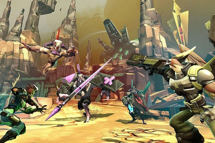 In Battleborn, Alien races battle for control of the last source of energy - a fading star.