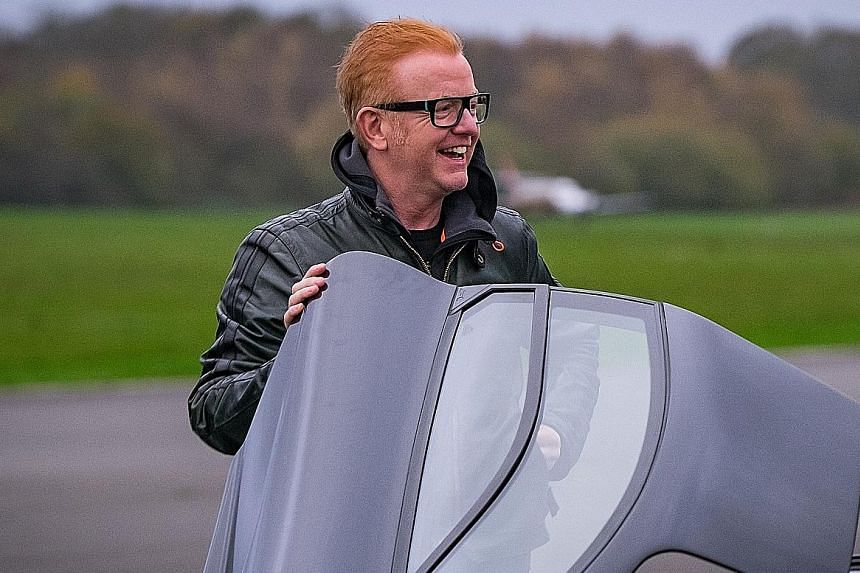 Chris Evans (above) passed his driving test after three lessons while Matt LeBlanc made it the first time driving in the snow.