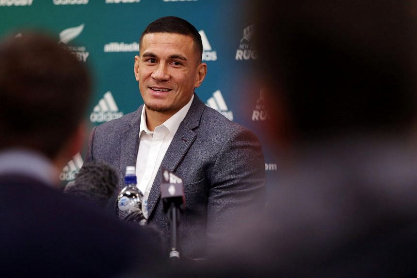 Sonny Bill Williams speaks to the media after it was announced that he has signed a three year deal with the New Zealand Rugby Union and will play for the Auckland Blues next year.