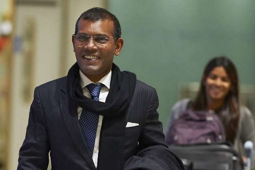 Mohamed Nasheed (above) has formed an opposition group on Wednesday (June 1) aimed at toppling the government of President Abdulla Yameen.
