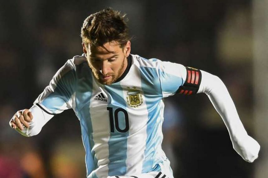 Lionel Messi in control against Honduras in last Friday's friendly. He hobbled off with a back injury, raising questions about his fitness and fatigue ahead of Argentina's Copa America opener next Monday.