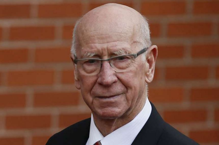 "Despite opposition to Jose Mourinho after the departure of Alex Ferguson, club legend Bobby Charlton (above) gave the new coach a warm welcome on Monday, saying: ""I am very happy to see you here""."