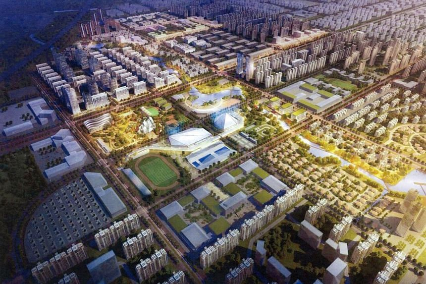 KSH has a 22.5 per cent stake in the massive 533.3ha Gaobeidian township project (above) in Hebei province. The 3,050 residential units it is aiming to launch in the joint venture development comprise 1,600 mass-market units and 1,450 high-end ones.