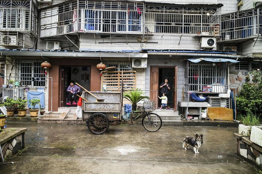The Henghe North neighbourhood of Wenzhou, China. Recently, when a resident of the neighbourhood tried to sell her apartment, local officials told her that her lease on the land had expired. To sell her apartment, she had to pay the government one-th