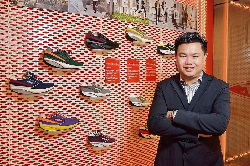 """Mr Andy Chaw, CEO of Masai Group International which owns the MBT shoe brand, says """"it is a constant battle trying to defend our IP rights""""."""