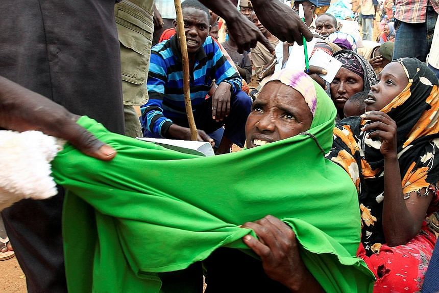 The Dadaab camp on the Kenya-Somalia border is the world's largest refugee camp and hosts nearly 350,000 refugees who fled Somalia's decades-long civil war.