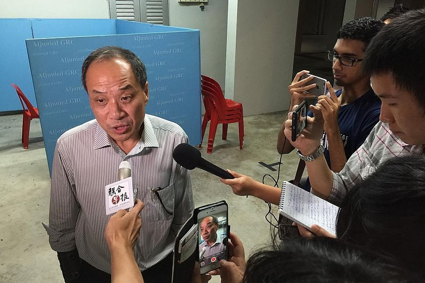 Mr Low, speaking to reporters before his Meet-the-People Session in Hougang yesterday, said it was unproductive to take the results of WP's internal election as indicating dissent in the party. On Sunday, he was challenged for the first time since 20