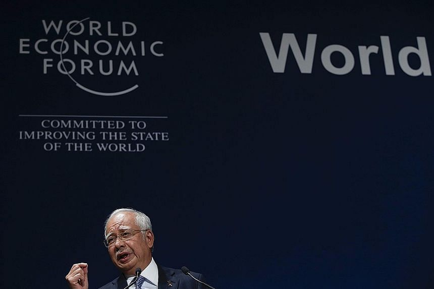 Datuk Seri Najib, speaking at the opening plenary of the World Economic Forum on Asean in Kuala Lumpur yesterday, said the region's economy grew at over 5 per cent a year from 2007 to last year, during a period of financial crisis worldwide. And in 2