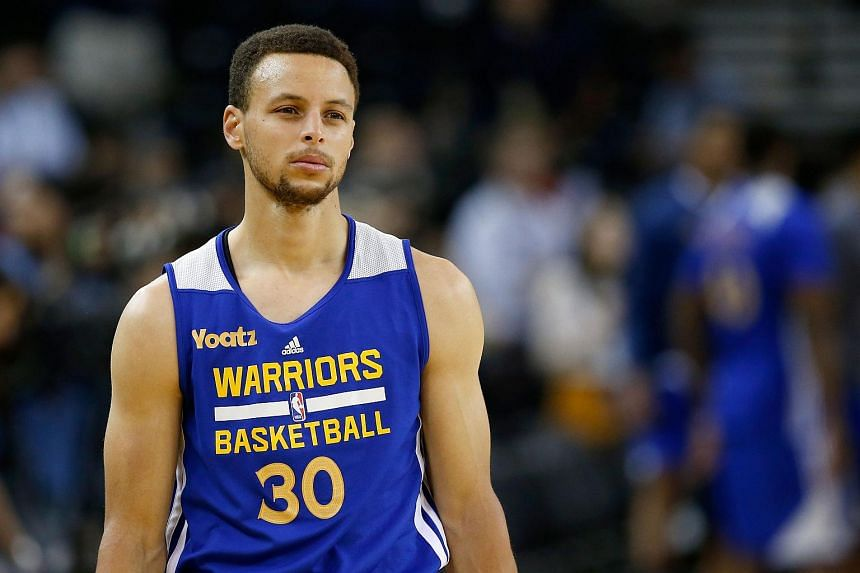 9f69f088e NBA  Curry calls for hungry Warriors against Cavaliers as Finals Game 1  looms. Stephen Curry  30 of the Golden State Warriors looks on during  practice ...