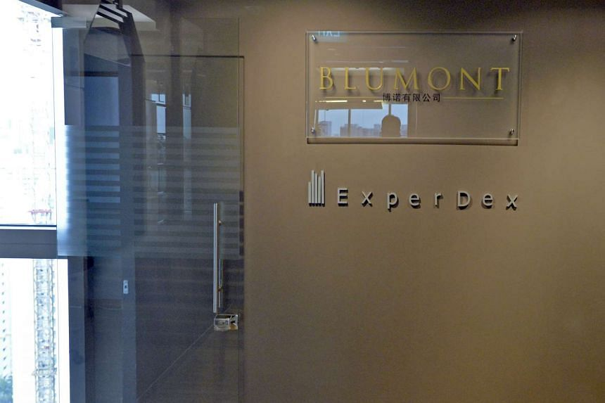 The office of Blumont Group at Central Plaza.