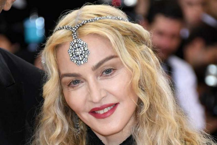 Madonna at an event in New York City on May 2, 2016.