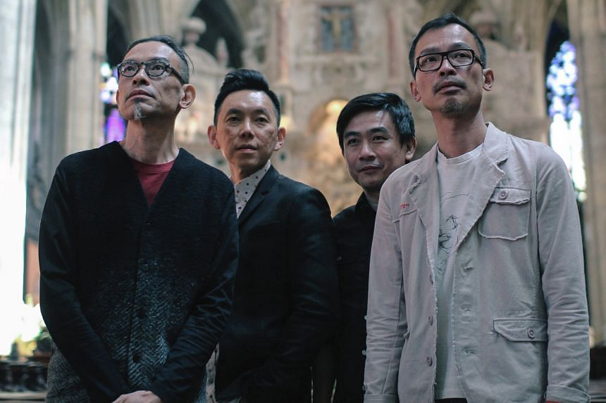 Melvyn Tan will be playing at the concert alongside the T'ang Quartet (above).