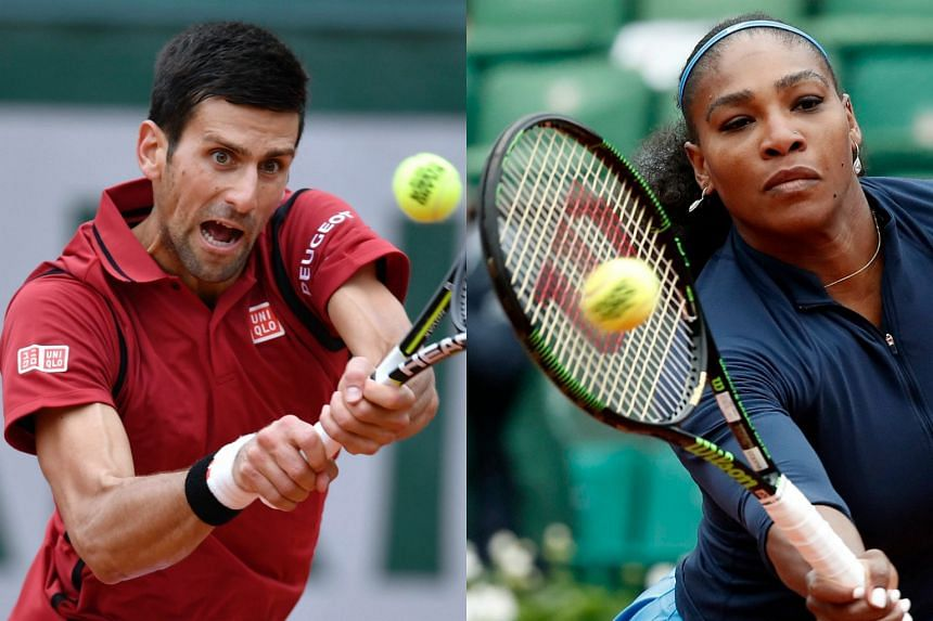 Novak Djokovic (left) and Serena Williams target French Open semi-final spots on Thursday as history looms for both of the world's top players.