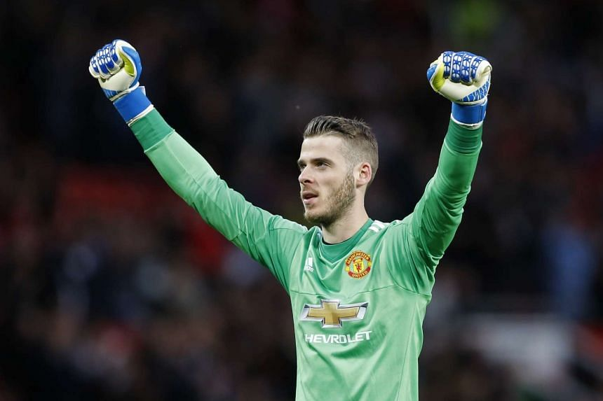 """Manchester United goalkeeper David de Gea (above) is confident that they can build a """"great team"""" with Jose Mourinho."""