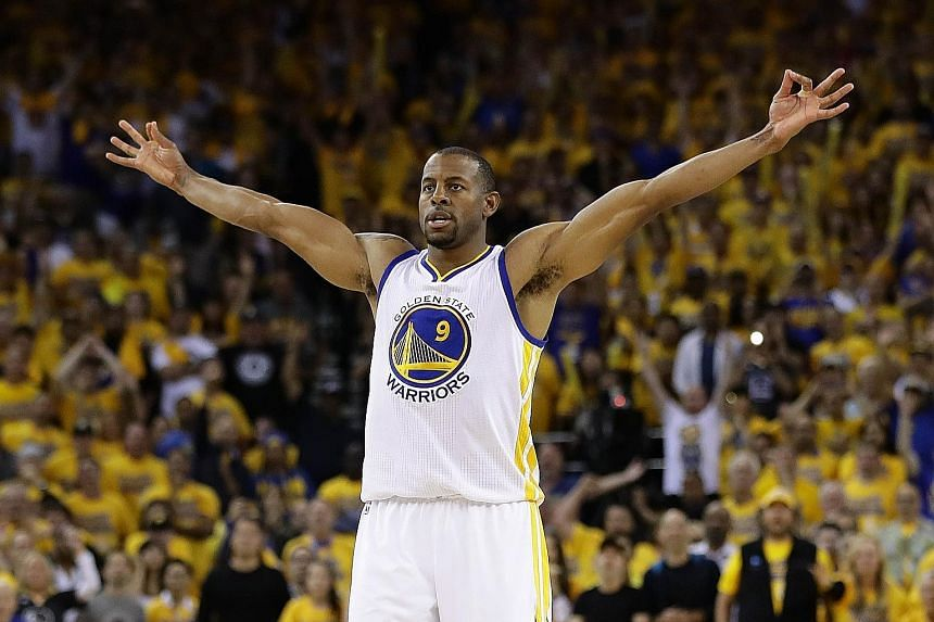 Warriors swingman Andre Iguodala is expected to be tasked with defending against Cleveland's star forward LeBron James during the NBA Finals.