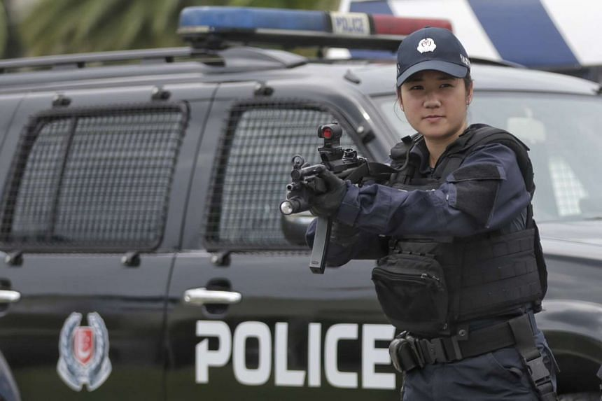 Inspector Paige Lee from the Police's Emergency Response Teams (ERTs) will be commissioned at the Police Day Parade (PDP) 2016 on June 3, 2016.