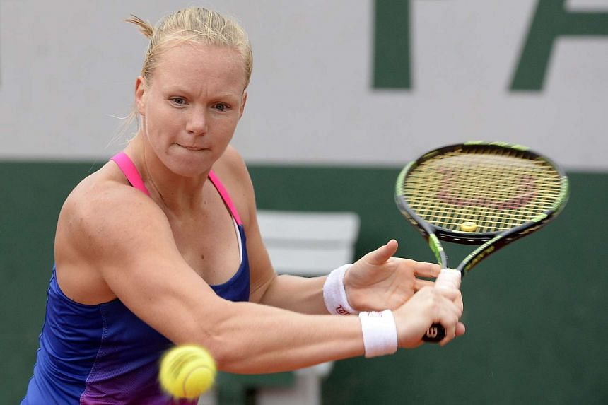 World number 58 Kiki Bertens (above) will face world number one Serena Williams.