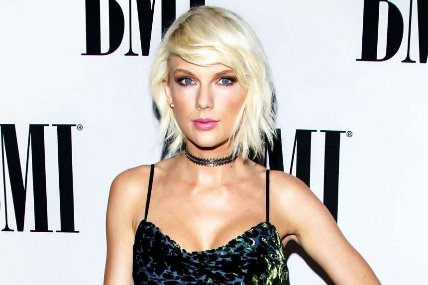 Pop singer Taylor Swift (above) and DJ Calvin Harris ended their relationship last week.
