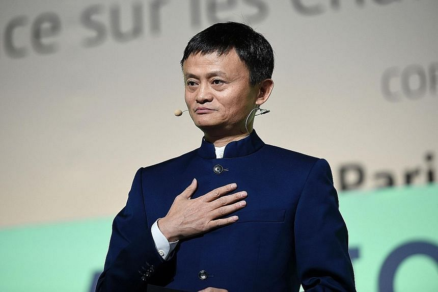 """Mr Ma told Xinhua news agency that """"the best way to settle questioning is transparency and communication"""". He added that some US investors struggle to understand Alibaba's business model."""