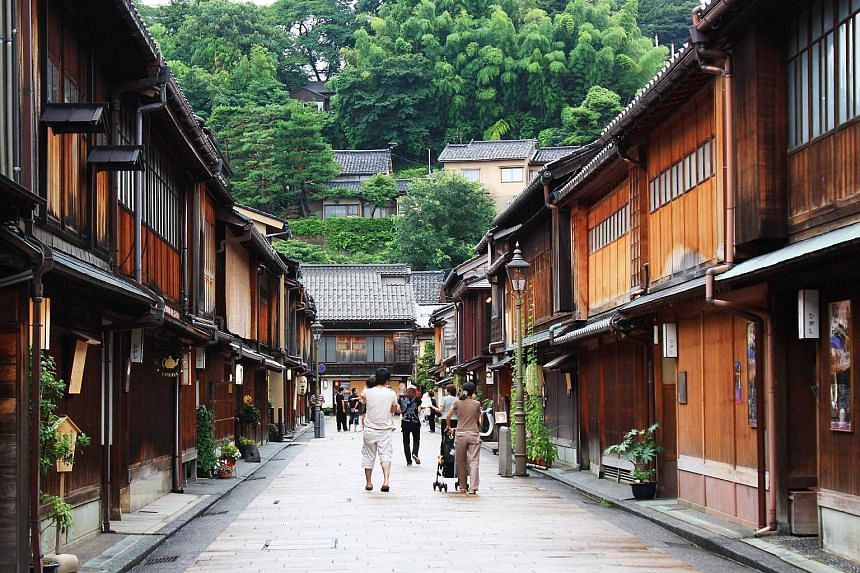 Kanazawa on Honshu island is one of the top three Japanese cities which had the biggest increase in interest. Japan has set a target of attracting 20 million tourists a year by 2020.