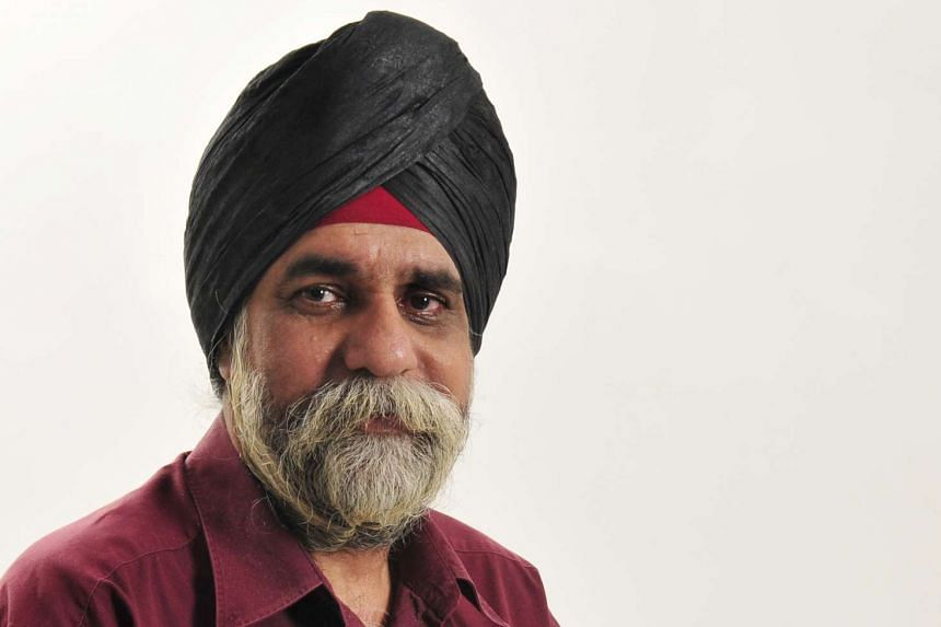 Santokh Singh (above) was 56 and is survived by his wife of 30 years, Sukhdevi, and four children.