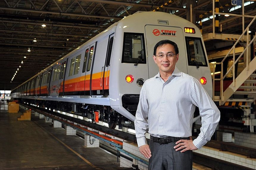 Before his pay cut, Mr Kuek's compensation was the heftiest that SMRT has paid to any of its chief executives. SMRT did not say why Mr Kuek's pay was crimped, but the previous year it defended his record remuneration.