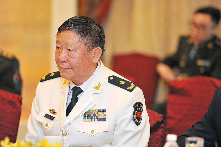 Rear-Adm Guan said the US often puts its own principles above international principles, but he also conceded that the military relationship between the two major powers is a maturing one.