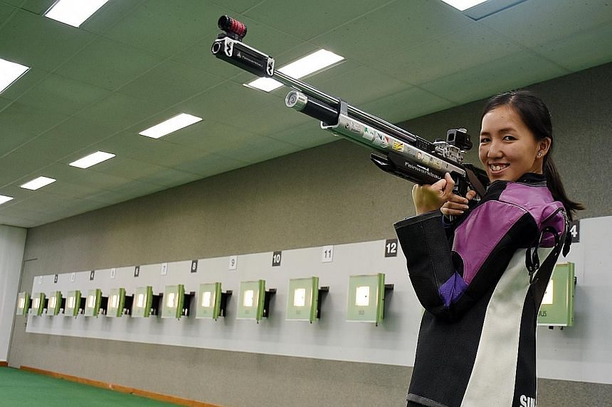 Singapore shooter Jasmine Ser hopes her confidence stemming from the qualifiers can translate to medal-winning performances in Rio.