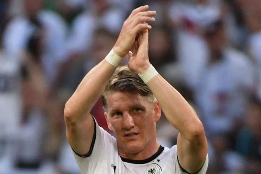 Germany's Bastian Schweinsteiger after the friendly against Hungary on June 4, 2016.