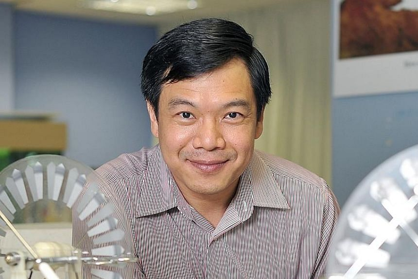Professor Sow Chorng Haur of NUS started the learning laboratory 15 years ago to get students excited about science.