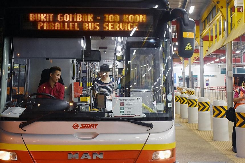 Parallel bus services will cater to commuters travelling early on Sunday mornings between the affected stations.