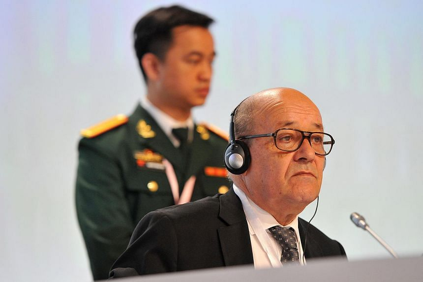 Jean-Yves Le Drian, Minister of Defence for France.
