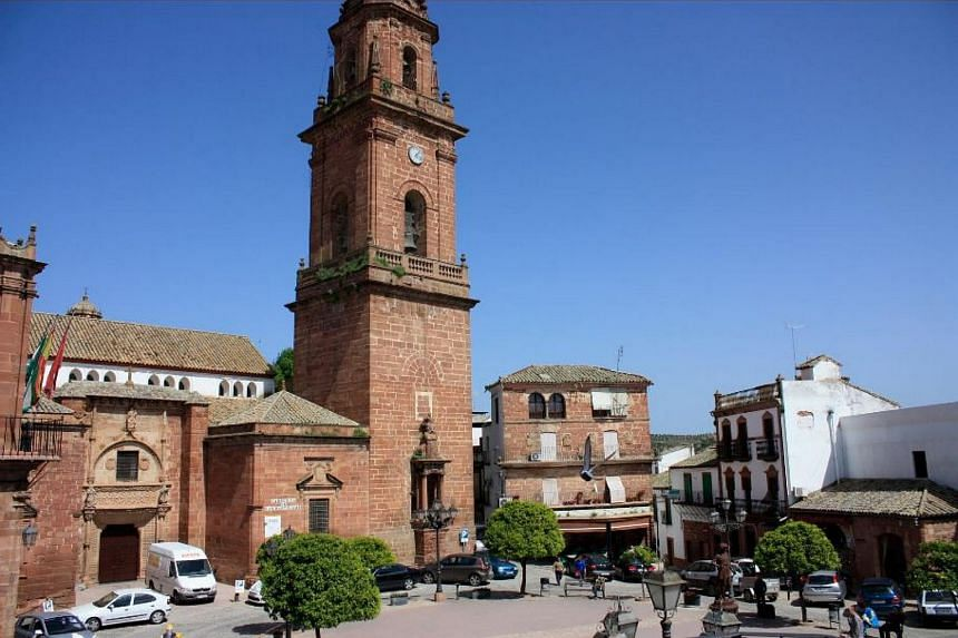 The town of Montoro in southern Spain's Cordoba province.