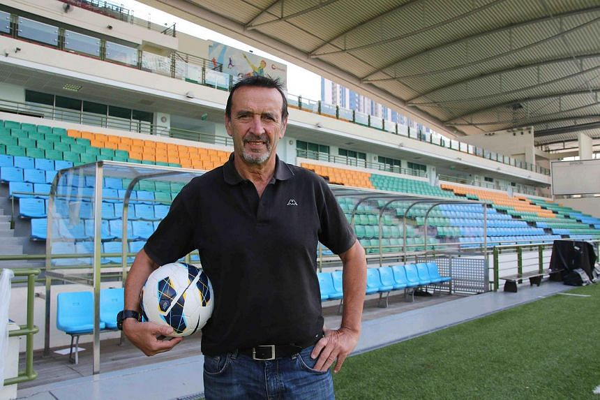 Richard Tardy, the head coach of national youth teams of Singapore's football.